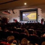 Un'immagine della sala dove si è svolto la trentasettesima edizione del Sulmona International Film Fest