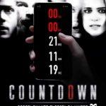 La locandina originale di Countdown di Justin Dec (USA, 2019)