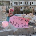 Una significativa immagine tratta dal documentario For Sama di Waad Al-Khateab e Edward Watts (Siria, UK 2019)