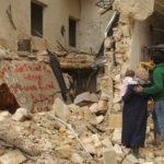 Morte e distruzione nel documentario For Sama di Waad Al-Khateab e Edward Watts (Siria, UK 2019)