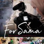 La locandina internazionale del documentario For Sama di Waad Al-Khateab e Edward Watts (Siria, UK 2019)