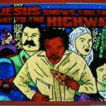 Personaggi variamente assortiti in Jesus Shows You the Way to the Highway di Miguel Llansó (spagna, Etiopia, Romania 2019)