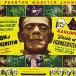 Un manifesto promozionale de La moglie di Frankenstein di James Whale (Bride of Frankenstein, USA 1935)