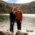 Maud Wyler e Swann Arlaud in un momento di Perdrix di Erwan Le Duc (Francia, 2019)