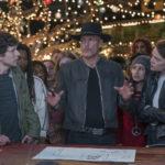 Woody Harrelson arringa il cast durante Zombieland - Doppio colpo di Ruben Fleischer (Zombieland: Double Tap, USA 2019)