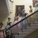 Una composita e sofisticata immagine tratta da Piccole donne di Greta Gerwig (Little Women, USA 2019)