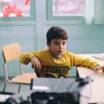 Un piccolo protagonista del corto Pupone di Alessandro Guida (Italia, 2019)