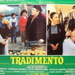 Un manifesto promozionale di Tradimento di Alfonso Brescia (Italia, 1982)