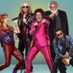 """I """"Popcorn"""" in concerto in un'immagine promozionale de La mia banda suona il pop di Fausto Brizzi (Italia, 2020)"""