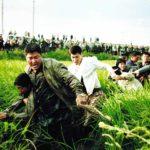 Un convulso momento da Memorie di un assassino di Bong Joon Ho (Salinui chueok, Corea del Sud 2003)