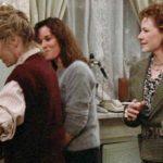 Mia Farrow, Barbara Hershey e Dianne Wiest sono le tre sorelle del titolo in Hannah e le sue sorelle di Woody Allen (Hannah and Her Sisters, USA 1986)