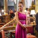 Pearl Thusi, protagonista di Queen Sono, serie tv creata da Kagiso Legida (Sudafrica, 2020)