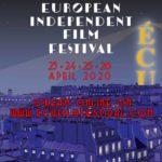 Il poster ufficiale della quindicesima edizione dell'ÉCU – The European Independent Film Festival
