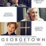 La locandina originale di Georgetown di Christoph Waltz (USA, 2019)