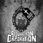 La locandina del film d'animazione Resurrection Corporation di Alberto Genovese (Italia, 2020)