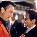 Robert Di Niro e Joe Pesci discutono durante Casinò di Martin Scorsese (USA, 1995)