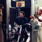 Una curiosa immagine tratta da La cena di Ettore Scola (Italia, Francia 1998)