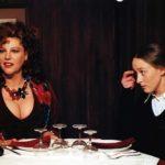 Stefania Sandrelli in un momento de La cena di Ettore Scola (Italia, Francia 1998)