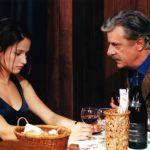 Marie Gillain e Giancarlo Giannini in un'altra immagine da La cena di Ettore Scola (Italia, Francia 1998)