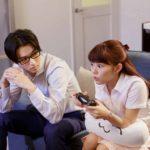Una buffa immagine dei due protagonisti di Wotakoi: Love is Hard for Otaku di Yuichi Fukuda (Giappone, 2020)