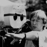 Alan Parker in cabina di regia sul set di Mississippi Burning (1988)