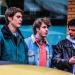 I tre giovani protagonisti di Est (Dittatura Last Minute) di Antonio Pisu (Italia, 2020)