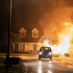 Esplosioni e caos durante Il giorno sbagliato di Derrick Borte (Unhinged, USA 2020)