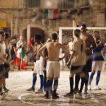 Un'immagine tratta dal corto Il mondiale in piazza di Vito Palmieri (Italia, 2018)