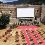 L'arena di Castello dell'Imperatore, sede del Festival