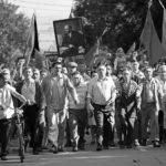 Manifestazioni per il lavoro durante Dear Comrades! di Andrei Konchalovsky (Dorogie tovarishchi, Russia 2020)