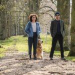 Jasmine Trinca e Clive Owen in un'immagine tratta da Guida romantica a posti perduti di Giorgia Farina (Italia, 2020)