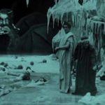Un'inquietante immagine tratta da L'inferno 1911 di Francesco Bertolini, Giuseppe De Liguoro, Adolfo Padovan (Italia, 1911)