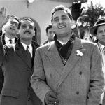 Alberto Sordi in un altro momento de I vitelloni di Federico Fellini (Italia, Francia 1953)
