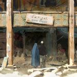 Una straziante immagine tratta da The Swallows of Kabul di Zabou Breitman ed Eléa Gobé Mévellec (Les hirondelles de Kaboul, Francia, Svizzera, Lussemburgo 2019)