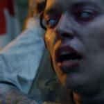 Un'inquietante immagine tratta da Curse of the Blind Dead di Raffaele Picchio