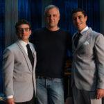 V. Nemolato, il regista Lucio Pellegrini e E. Scarpetta - Ph. Andrea Pirrello