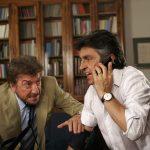 Gigi Proietti e Vincenzo Salemme in un momento de La vita è una cosa meravigliosa di Carlo Vanzina