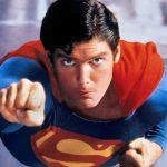 Christopher Reeve nei panni di Superman